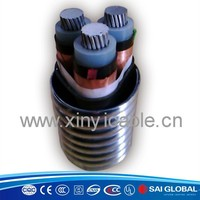 TC90 aluminum alloy conductor power cable europe type
