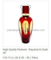 wholesale 100ml oudh perfume from dubai with fantastic crystal bottle