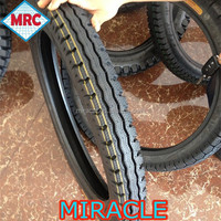 China wholesale nature rubber all size of motorcycle tyre 3.25-16 3.50-16