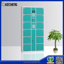 locked cupboard electronic lockers with fingerprint with CE certificate