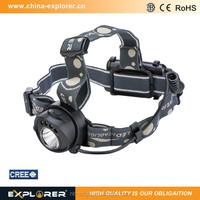 220 lumens durable high power sensor led head lamp