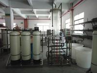 2000L/H water treatment ion exchanger laboratory water deionizer unit