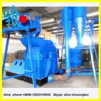 hammer mill/crusher to take wood from chips to sawdust