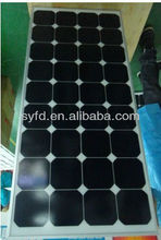 GOOD SALES!! 110W best price per watt sunpower solar panels using American sunpower solar cells with TUV IEC CE RoHS certified