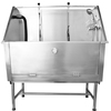 2015 Best Selling Stainless Steel Dog Bathtubs with door H-105