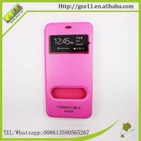 sublimation phone case leather flip cover for tecno Zmini
