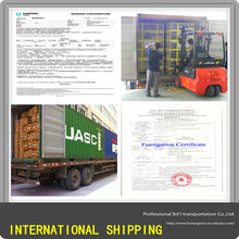 Shipping Container to Egypt from China, CIQ Certificate