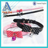 High quality leather dog collar and leashes