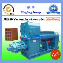 Jkr40 extrusora de ladrillo de arcilla de la máquina, automática extrusora de ladrillo de arcilla de la máquina
