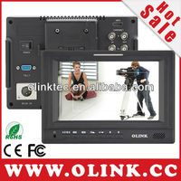 HDMI Camera LCD Monitor, sdi broadcast monitor with 1024x600 high resolution, 3G, HD SDI, Tally System fully supported