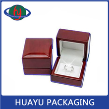 2015 Wooden Wholesale Stock Engagement/Wedding Ring Box