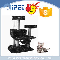 Hot sell pet toy deluxe craft pet playing playground cat tree
