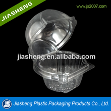 Single Use Cupcake Container Plastic Individual Clamshell Carrier