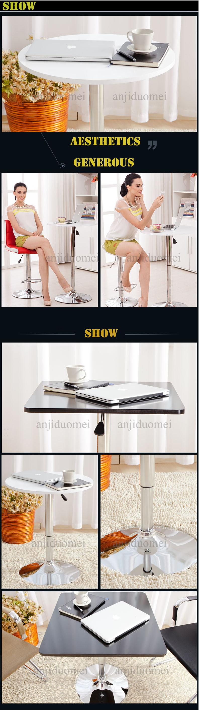 도매 스테인레스 스틸 바 테이블/ plastic 둥근 테이블/ ABS 테이블 ...