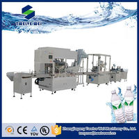 Plastic Bottle Automatic Mineral Water Bottling Plant/Pure Water Filling Production Line