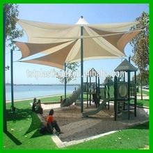 China Mainland sun shade UV resist HDPE traingle sun shade sails
