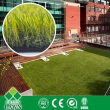 PE soft comfortable artificial grass for decoration