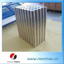 Rare Earth Strong 2mm diameter 52 neodymium magnet 2mm Permanent Magnet