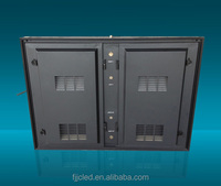 Advertising Easy Install Waterproof P10 Full Color LED Display Outdoor TV Cabinet
