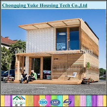 2015 China low cost bungalow wood/wood bungalow for sale