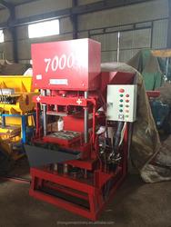Eco Premium 7000 thailand soil interlocking brick machine/compressed earth blocks machines/clay brick cost