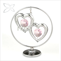 Good Quality Lovely Sliver Plated Metal Malay Wedding Gift