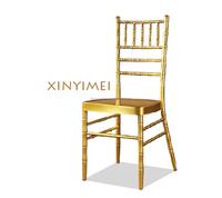 Big hotel hall stacking rental Iron chiavari Chair