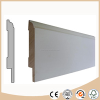 MDF flooring skirting board / baseboard molding export price