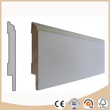 MDF flooring skirting board / baseboard molding export price