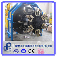 pipeline welding prepration used beveling machine in pipe end facing