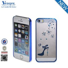 Veaqee factory price hard hot diamond pc cell phone case for iphone 5s