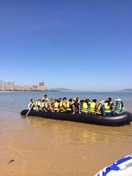 big 23ft, 8m, 30 people inflatable boat