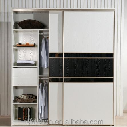 White Oak Wooden Almirah Designs In Bedroom Wall With Folding - Wooden almirah designs for bedroom