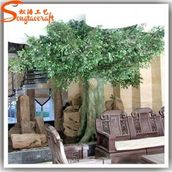 2015 China factory hot sale any size any shape artidicial outdoor plants and trees