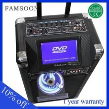 12v 30w plastic portable speakers portable dvd player deals