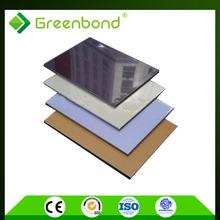 Greenbond shopping mall waterproof wall material aluminum composite sheet