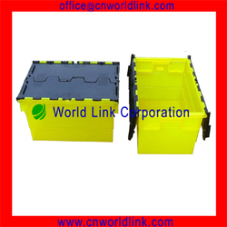 Large Size Plastic Container With Flip Lid
