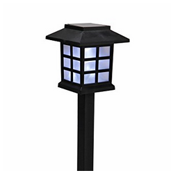 solar path lights small lattice style plastic garden lights weather resistant outdoor solar lights - Led Garden Lights