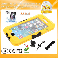 """TPU Silicone Mobile Case Bicycle Motorcycle Bracket Handlebar Mount Holder Waterproof Case for iPhone6 6S 6 Plus 5.5"""""""