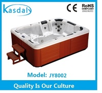 CE Approval new invention high quality outdooor spa whirlpool massage hot tub for european JY8002