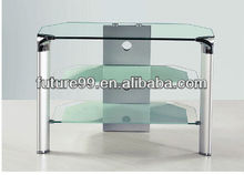 entertainment glass tv wall units modern designs with rack