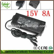 Power AC Adapter 15V 8A 120W Charger For TOSHIBA Dynabook Qosmio F30 PA3237U-3ACA