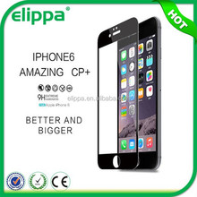 2015 top selling products free sample Titanium Alloy tempered glass screen protector for iphone 6