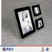 Gold supplier TOP design the most beautiful photo frames, acrylic magnetic photo frame