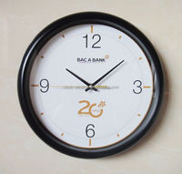 10 inch promotion clock, 25.4 cm wall clock for promotion