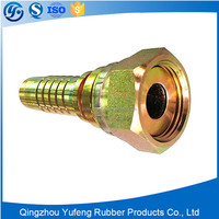 Good selling hydraulic hose fittings , metric straight fittings