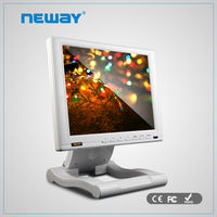 10.4 inch car monitor foldable hdmi white tft lcd monitor