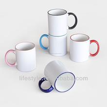 Tazas de cerámica sublimadas.