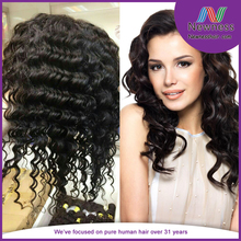 Quality 7A remy human hair wig making supplies