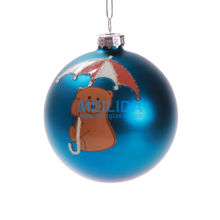 Hollow decorative glass balls